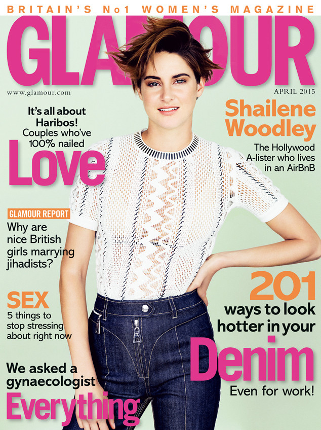 Shailene Woodley, Glamour UK